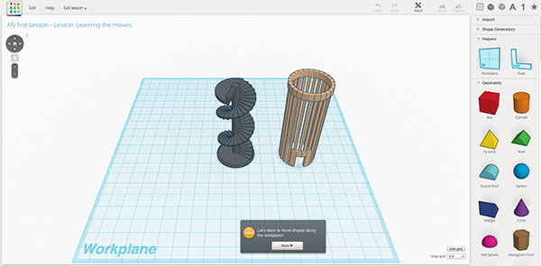 Browser based modeling software for 3d printing Online modeling program