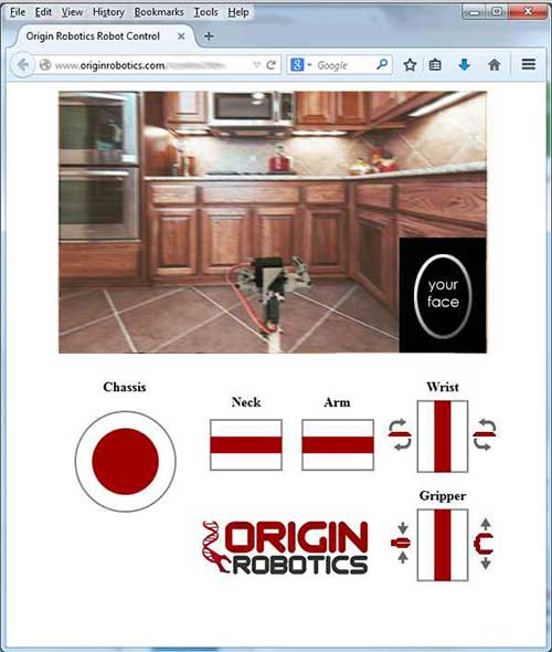 origibot interface