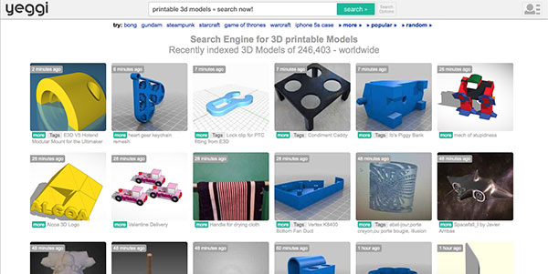 Top websites to download free 3d printing models 3d model sites